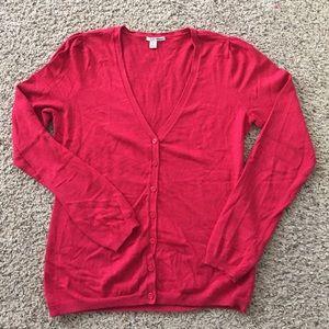 Halogen Sweaters - 🎉2 for $12 Sale🎉 Halogen Red Cardigan