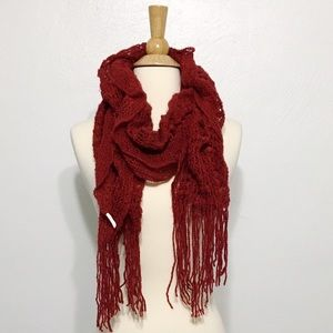 HOST PICK! Red scarf