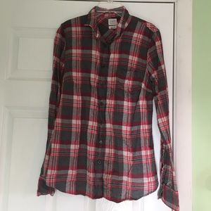 "J Crew ""perfect fit"" flannels"