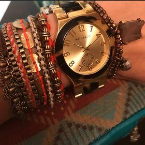 Silpada Timeless Tortoise Watch NWT