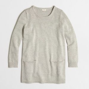 J.Crew Factory Sweaters - J.Crew Pocket Tunic Sweater
