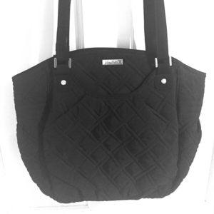 Vera Bradley black quilted purse