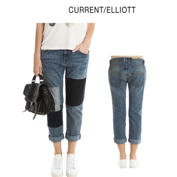 Current/Elliott Denim - Current Elliot The Boyfriend Sz 28