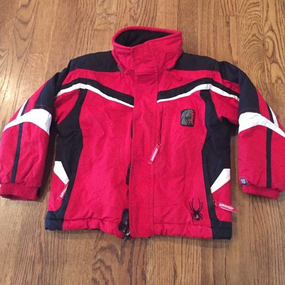 Boys Spyder XT 5000 winter ski jacket. M 5867e2de36d594f1b50785e7 6b3e28c9c
