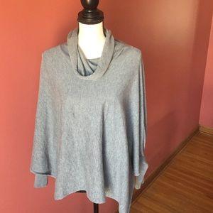 Alfani Sweaters - Alfani grey poncho