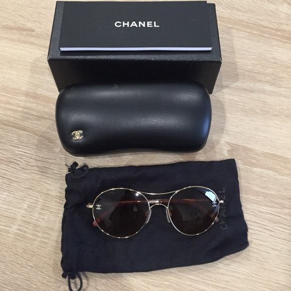 81b7c73b531 CHANEL Accessories - Chanel  Aviator Sunglasses