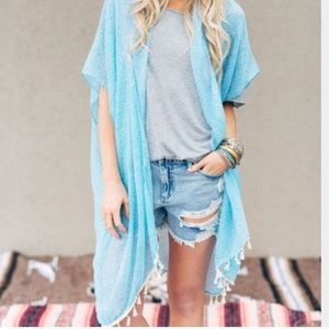 Three Bird Nest Accessories - Last 1💞Boho Tassel Kimono