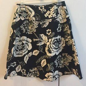 Old Navy flower skirt