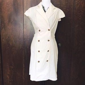 ❤️3 for $30! ❤️ Perry Ellis long white dress