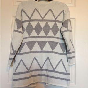 LOFT Sweaters - Loft Tribal Print Cardigan Size SP