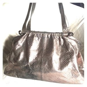 👜REISS EMBOSSED TOTE👜