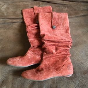 Ugg Slouchy Suede Boots
