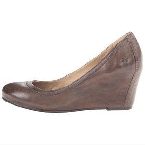 Frye Shoes - ‼️SALE‼️❤FRYE CARSON WEDGE PUMPS❤