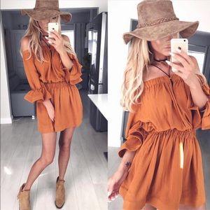 Rust Boutique Dress size S