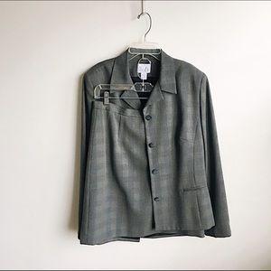 *LOFT* Vintage Gray Two-Piece Suit