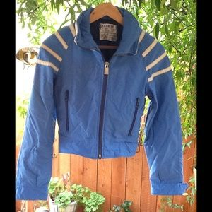 Vintage Jackets & Blazers - Vintage Winter Jacket Snow Skin Blue XS Small