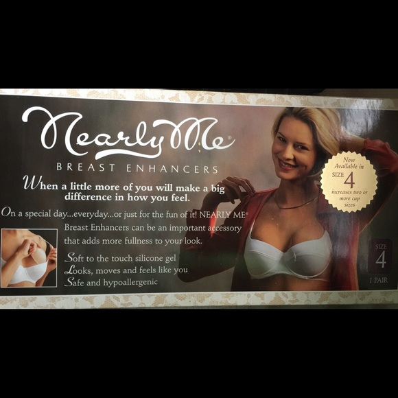 1f925103cdc5a Nearly Me Breast Enhancers Size 4