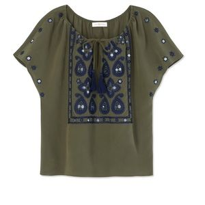 Tory Burch Tops - Tory Burch Camille Top NWT Size 2