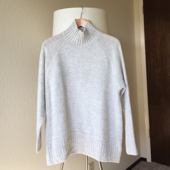 H M Sweaters - H M Oversized Turtleneck Sweater with Mohair 41e65399b