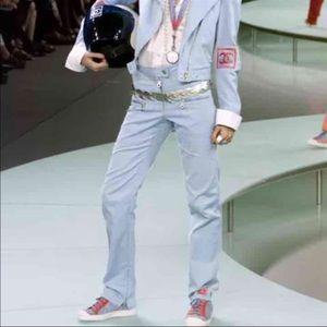 Chanel Runway Identification Pants- 38