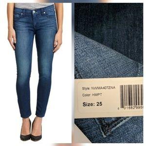 Hudson Jeans Denim - Hudson Nico Midrise Skinny ankle Jeans Hampton