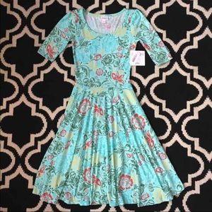 NWT Lularoe Nicole Dress - XXS