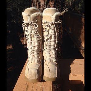 ALDO suede lace-up Boots