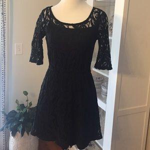 love on a hanger Dresses & Skirts - Black lace dress LBD