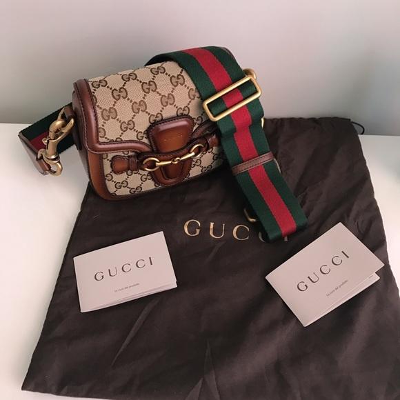 0c54d168d99e44 Gucci Bags | Lady Web Original Gg Canvas Shoulder Bag | Poshmark