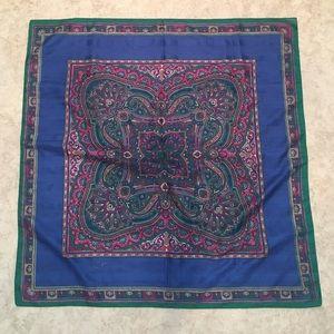 Silky Handkerchief Square Scarf