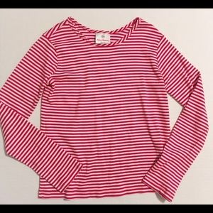 Hanna Andersson Other - Hanna Andersson Shirt red striped 10/12