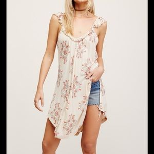 FREE PEOPLE DRIFTER TUNIC IN IVORY