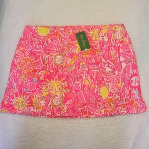 NWT Lily Pulitzer January skirt Kinis in the keys!