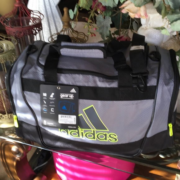 3346f9bc6038 ADIDAS DEFENDER II DUFFEL BAG SMALL