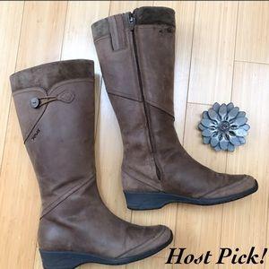 Teva Shoes - TEVA leather boots, sz 8.5.