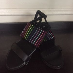 C. Label  Shoes - 🌈 Rainbow Sandals . NWT