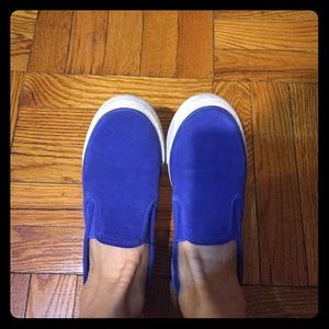 Sperry Shoes - Blue Sperry slip on sneakers