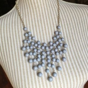 Jewelry - Gray Blue Statement Necklace
