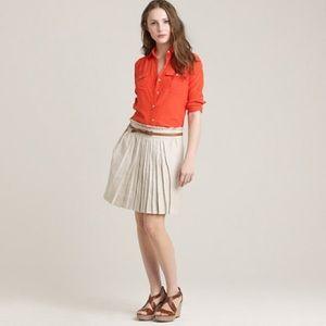 J Crew Linen Skirt