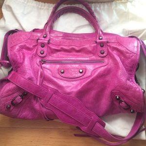 Balenciaga Handbags - Authentic Balenciaga city satchel bag