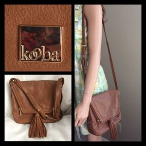 Kooba Handbags - Kooba Saddle Leather Crossbody Bag