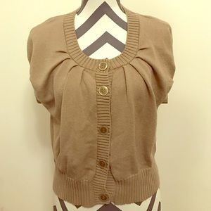 Margaret O'Leary Sweaters - Margaret O'Leary cardigan (short sleeve)