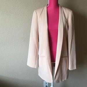 Eileen Fisher Jackets & Blazers - Eileen Fisher High Collar Long Jacket