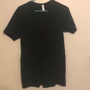 American Apparel Deep V tshirt