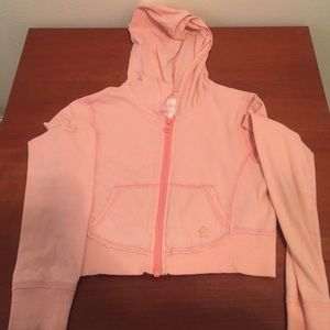 Limited Too Other - Limited Too Peach Zip Jacket