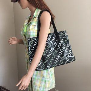 Pandora Handbags - Pandora Vinyl Tote Bag NWOT