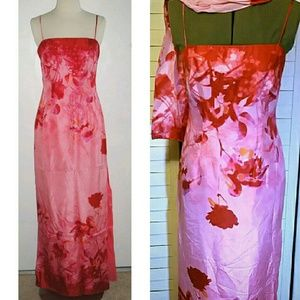 JS Collections Dresses & Skirts - JS Collections Siz 8 Silk Floral Maxi