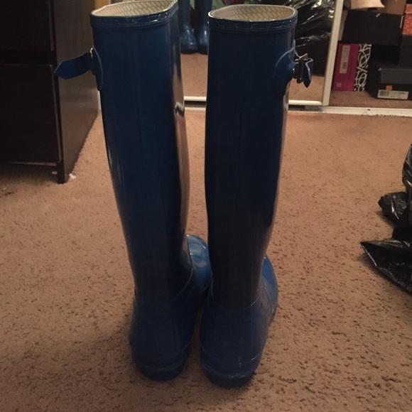 Hunter Shoes - Hunter Tall Gloss Rain Boots
