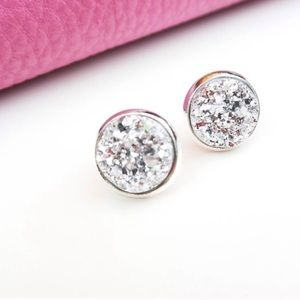 Twilight Gypsy Collective Jewelry - Silver Sparkle Earrings