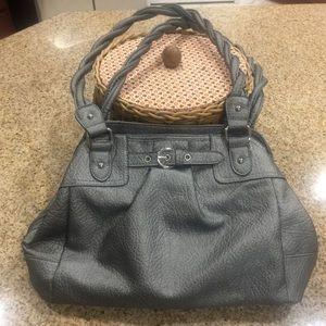 Rosetti Handbags - Rosetti metallic grey tote